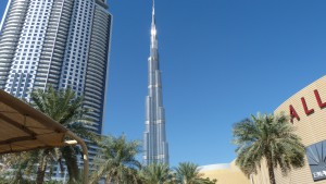 Burj Khalifa mit Dubai Mall