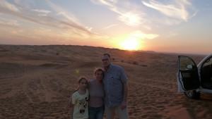 nach dem ersten Teil der Wüstentour